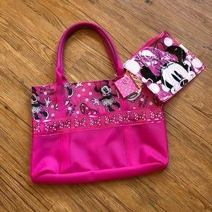 Minnie Mouse Beach Tote Bag
